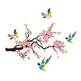 povoljno Ukrasne naljepnice-šljive cvjetovi grane magije zidne naljepnice pvc naljepnice soba dekor plakat home decor