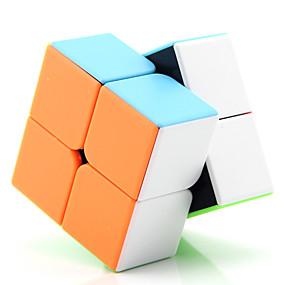 hesapli Oyuncaklar & Hobi Gereçleri-Hız Küpü Seti 1 pcs Sihirli küp IQ Cube D917 2*2*2 Sihirli Küpler bulmaca küp Ofis Masası Oyuncakları Genç Yetişkin Oyuncaklar Hediye