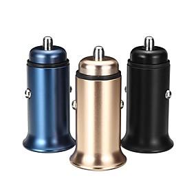 Недорогие Автомобильные зарядные устройства-QC3.0 5A DC 12-24V Supercharge USB автомобильное зарядное устройство