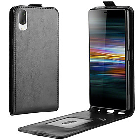 cheap Sony-For Sony Xperia L3 Crazy Horse Vertical Flip Leather Protective Case