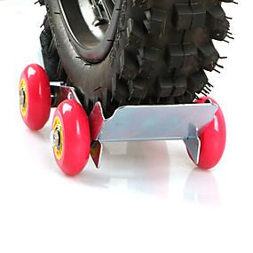 Недорогие Запчасти для мотоциклов и квадроциклов-мотоцикл скутер передний задний сломанный колесный прицеп компактный переносной багажник для экстренной помощи на дороге (случайный цвет)