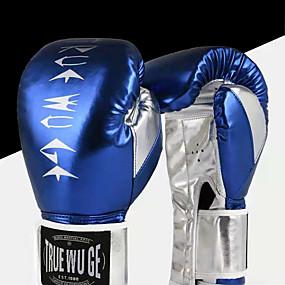 baratos Exercício e Fitness-Luvas de Box Para Artes marciais Muay Thai Kickboxing Durável Respirável Infantil Homens Mulheres - Amarelo Vermelho Verde