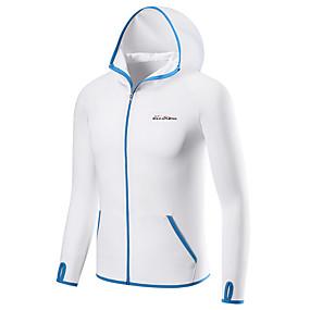 povoljno Ribolov i lov-Muškarci Zaštitna odjeća za sunce Majice Quick dry Zaštita protiv komaraca Anti-UV Ribolov Kampiranje Vanjski Ribolov / Umjetna svila / Mikroelastično
