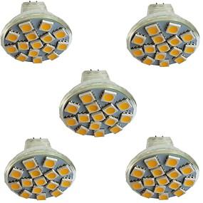 povoljno LED reflektori-5pcs 3 W LED reflektori 300 lm MR11 15 LED zrnca SMD 5050 Toplo bijelo Hladno bijelo Prirodno bijelo 9-30 V