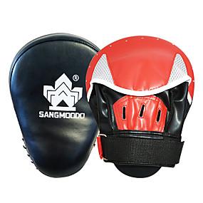 baratos Exercício e Fitness-Luvas de Boxe Manopla de Boxe Para Treinamento De Boxe Kickboxing Boxe Durável Ultra Leve (UL) Resistente ao Choque Previne Lesões PU 1 pcs Crianças Adulto - Preto