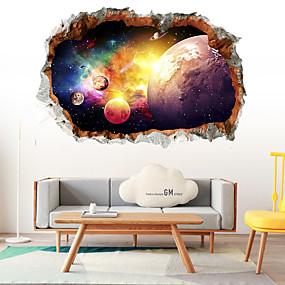 povoljno Ukrasne naljepnice-3d zvijezda nebo zidne naljepnice 3d zidne naljepnice ukrasne zidne naljepnice pvc ukras za dom zid zidne dekoracije zidni ukras 1pc