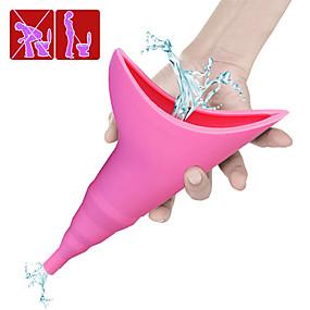 abordables Gadgets de Salle de Bain-portable femme urinoir entonnoir dames femme debout urinoir essentiel pour les voyages de camping en plein air fournitures d'urgence pour les femmes
