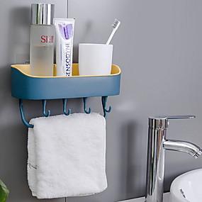 رخيصةأون المطبخ و السفرة-المطبخ رف الحائط شفط جدار المرحاض تخزين الحرة لكمة رف المطبخ
