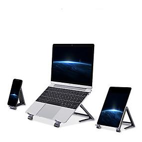 Недорогие USB гаджеты-алюминиевая складная регулируемая подставка для ноутбука планшетная складная мини охлаждающая подставка