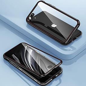 olcso iPhone 11Pro Max-mágneses tok iphone se2020 11 11 pro 11pro max x xs xr xs max 8plus 7plus 8 7 telefon tok kétoldalas üveg védőtok 360 fém borítás len védőtok