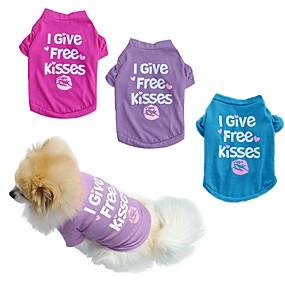 halpa Lemmikkieläinten Tarvikkeita-Kissa Koira Hameet Cosplay Häät Koiran vaatteet Purppura Sininen Ruusu Asu Puuvilla XS S M L XL