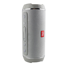 cheap Speakers-T&G Bluetooth Speakers Portable Wireless Speaker Player USB Radio FM Stereo Music Sound Sweatproof Column Outdoors