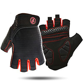 cheap Motorcycle Gloves-AK098 Mens Cycling GlovesHalf Finger Biking Glove Road Bicycle Gloves Gel Pad Shock-Absorbing Anti-Slip Breathable Motorcycle Mountain Bike Gloves Unisex Women