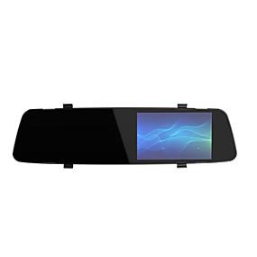 Недорогие Видеорегистраторы для авто-A5 новое зеркало заднего вида передняя и задняя двойная линза 1080p высокой четкости ночного видения производитель изображения
