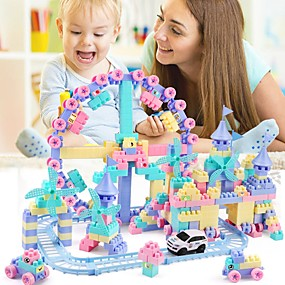 cheap Models & Building Toys-Building Blocks Transformable Special Designed Simple Plastic Shell 1 pcs Kids Preschool All Boys and Girls Toy Gift / New Design / Cute / Parent-Child Interaction