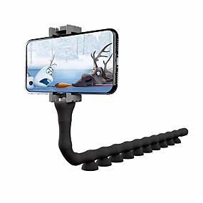 billige bordplate-søt larve lat brakett mobiltelefon holder orm fleksibel telefon sugekopp stativ for hjemme veggen stasjonær sykkel