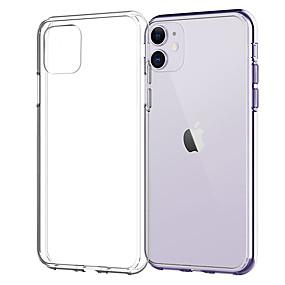 olcso iPhone 11Pro Max-tok iphone 11pro max átlátszó puha tpu telefon tok xs max xr ütésálló és leesésgátló 6 7 8plus se 2020 fedél