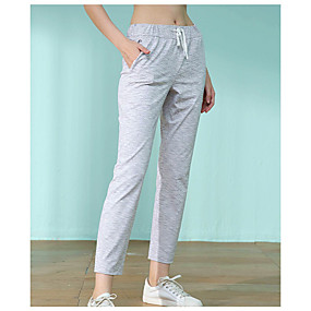 cheap Women's Pants-Women's Basic Daily Chinos Sweatpants Pants Solid Colored Comfort White S M L