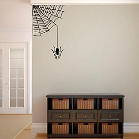 povoljno Ukrasne naljepnice-halloween party halloween dekor horor duh halloween pauk zidne naljepnice ukrasne zidne naljepnice, pvc ukras kuće zidne naljepnice zidne ukrase / uklonjive