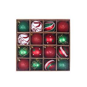 ieftine Decorațiuni Vacanță & Petrecere-2 cutii 32 buc ornamente cu bile de Crăciun pentru brad de Crăciun - decorațiuni de brad impecabile, agățate