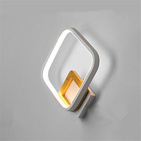 ieftine Abajure Perete-lampa de perete nordica minimalista lampa de noptiera moderna led lampa de hol calda sufragerie tv fundal lampa de perete