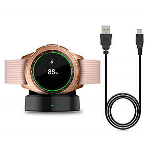 cheap Charging Plug-Smart Watch Wireless Charger for Samsung Galaxy Watch 42 / 46mm Charger Charging Base for Galaxy Gear S2 / S3