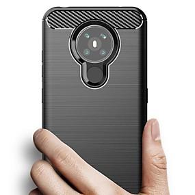 baratos Nokia-estojo para nokia 5.3 nokia 6.2 nokia 4.2 capa traseira ultrafina à prova de choque de cor sólida tpu estojo para nokia 1.3nokia 6.1 plus nokia 5.1 plus nokia 9 nokia 8 sirocco nokia 7.1 plus nokia