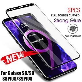 ieftine Protectoare Ecran de Samsung-samsung galaxy s20ultra a doua generație îmbunătățit serigrafie completă curbată serigrafie bordură neagră bordură albă note20 8 9 10plus anti-amprentă anti-zgârieturi s9 s8 s10plus protector de ecran