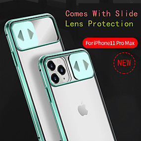cheap iPhone 11-Case For iPhone 11ProMax/11Pro/11/iPhone XS Max/XR/XS/7/8Plus/SE 2020 Anti-drop/Shockproof/With Mirror/Flip Cover Mobile Phone Lens Slide Cover 360 All-inclusive Transparent Tempered Glass/Metal