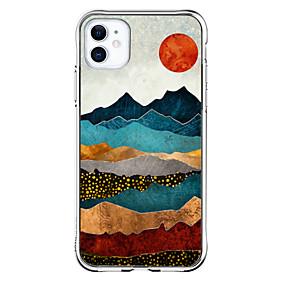 Недорогие Дизайн Case-Особый дизайн случай За Apple iPhone 12 iPhone 12 Mini iPhone 12 Pro Max Уникальный дизайн Защита от удара Кейс на заднюю панель ТПУ