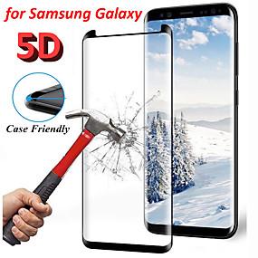 voordelige Screenprotectors voorSamsung-9h gebogen rand 5d gehard schermglasbeschermer voor Samsung Galaxy S8 S9 Note 9-beschermers