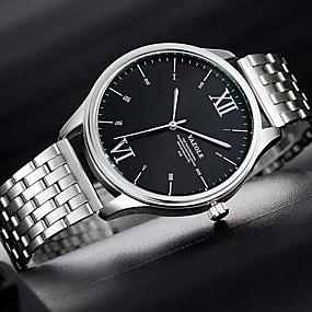 ieftine Ceasuri pt Rochii-YAZOLE Bărbați Ceas Elegant Quartz Stil modern Stl Casual Mare Dial Analog Alb Negru Albastru piscină / Un an / Aliaj de  Titan