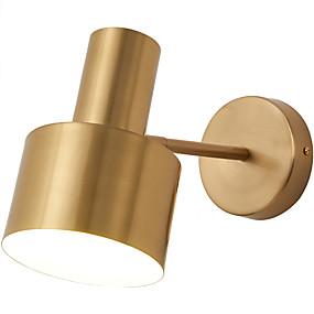 ieftine Abajure Perete-lumina de perete din cupru protecție pentru ochi drăguț stil nordic lumina de perete cameră de dormit dormitor 110-120v / 220-240v 5 w