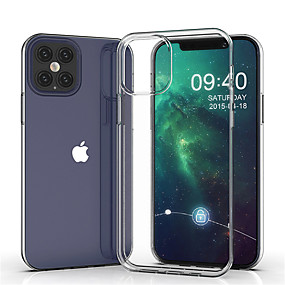 cheap iPhone 12 Case-Slim Soft TPU Phone Case for iPhone 12 SE 2020 11 11 Pro 11 Pro Max XS Max XR XS X 8 8 Plus 7 7 Plus