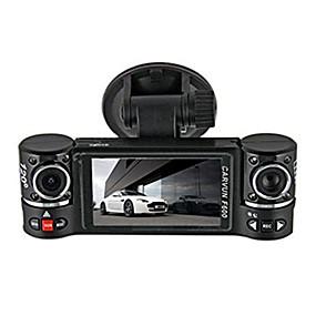 "ieftine DVR autóba-2.7 ""Dual Lens HD 1080P Car Dash Cam Camera Video Recorder DVR GPS Logger Stil auto Accesorii auto Camping Vânzare la cald"