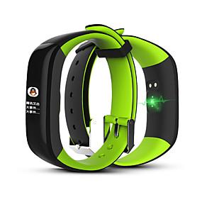 abordables Bracelets Intelligents-p1 plus bracelet intelligent fréquence cardiaque pression artérielle exercice de la consommation de chaleur enregistrement étape par étape bracelet étanche comptage intelligent bracelet bluetooth