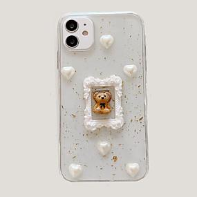 Недорогие Дизайн Case-индивидуальный чехол для apple iphone 11 уникальный дизайн чехол для мобильного телефона с 3d рисунком животных задняя крышка из тпу материала для iphone 11 pro max xs max xr x 7 8 plus 6 6s plus