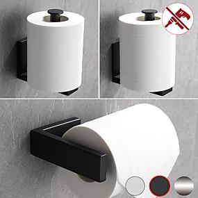 ieftine Accesorii de Baie-suport pentru hârtie igienică suport pentru țesuturi pentru baie sus 304 oțel inoxidabil 1buc - montat pe perete cu baie perforabilă sau lipibilă