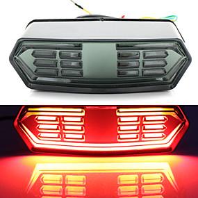 Недорогие Тормозные огни-2 шт. 12ledlight лампы 12 в сигнал мотоцикла стоп-сигнал задний фонарь индикатор работы интегрированный сигнал поворота