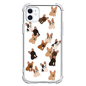 Недорогие Дизайн Case-С собакой случай За Apple iPhone 12 iPhone 12 Mini iPhone 12 Pro Max Уникальный дизайн Защита от удара Кейс на заднюю панель ТПУ