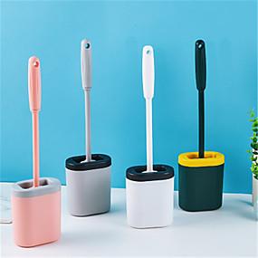 ieftine Gadget Baie-lung mâner gap perie moale pentru toaletă perie din silicon perie de toaletă perie de curățare perie de toaletă perie de toaletă