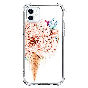 Недорогие Дизайн Case-Мороженное случай За Apple iPhone 12 iPhone 12 Mini iPhone 12 Pro Max Уникальный дизайн Защита от удара Кейс на заднюю панель ТПУ