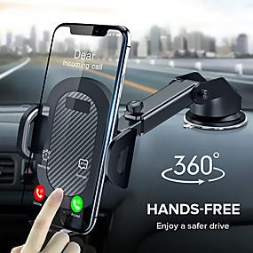 billige Køretøjsmonteret-360 rotation sugekop telefon bilholder skalerbart glas skrivebord i bil mobil holder stativ stor skærm smartphone GPS auto beslag