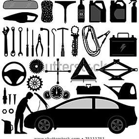 Utensili ed attrezzi per auto