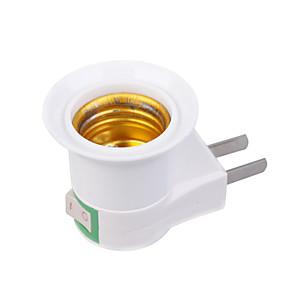 ieftine Testere & Detectoare-Priză US la E27 E27 110-240 V Plastic Bec pentru becuri