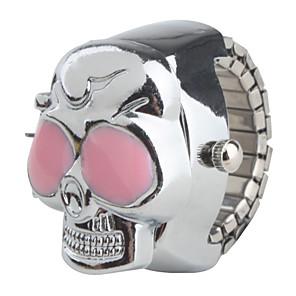 ieftine Inel Ceas-Pentru femei femei Ceas inel Quartz Schelet Ceas Casual Argint / Japoneză / Japoneză