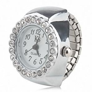 ieftine Inel Ceas-Pentru femei Ceas inel Diamond Watch Quartz femei Ceas Casual Analog / Japoneză / Japoneză