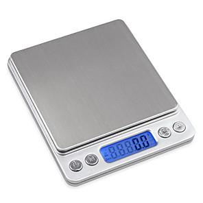 ieftine Cutie de bijuterii și afișaj-mini 2000g 0,1g bijuterie de precizie digitale scară greutate echilibru electronic de buzunar