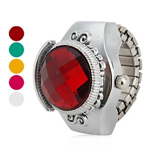 ieftine Ceasuri Damă-Pentru femei Ceas inel Japoneză Quartz Argint Ceas Casual femei Vintage - Trandafiriu Rosu Verde Un an Durată de Viaţă Baterie / SSUO SR626SW