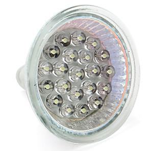 お買い得  LED スポットライト-1個 1 W LEDスポットライト 60-80 lm GU10 GU5.3(MR16) MR16 21 LEDビーズ DIP LED 温白色 ホワイト 12 V